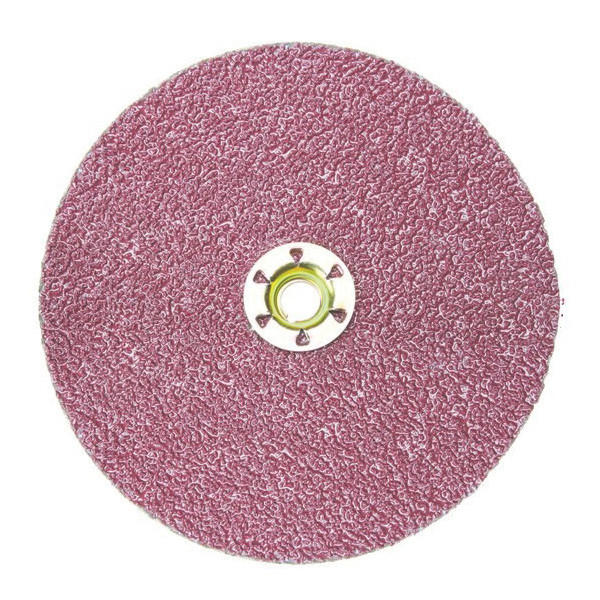 Cubitron™ II 982C Type GL Coated Quick Change Abrasive Disc - 7 in Dia - 5/8-11 Arbor - 36 Grit - Extra Coarse Grade