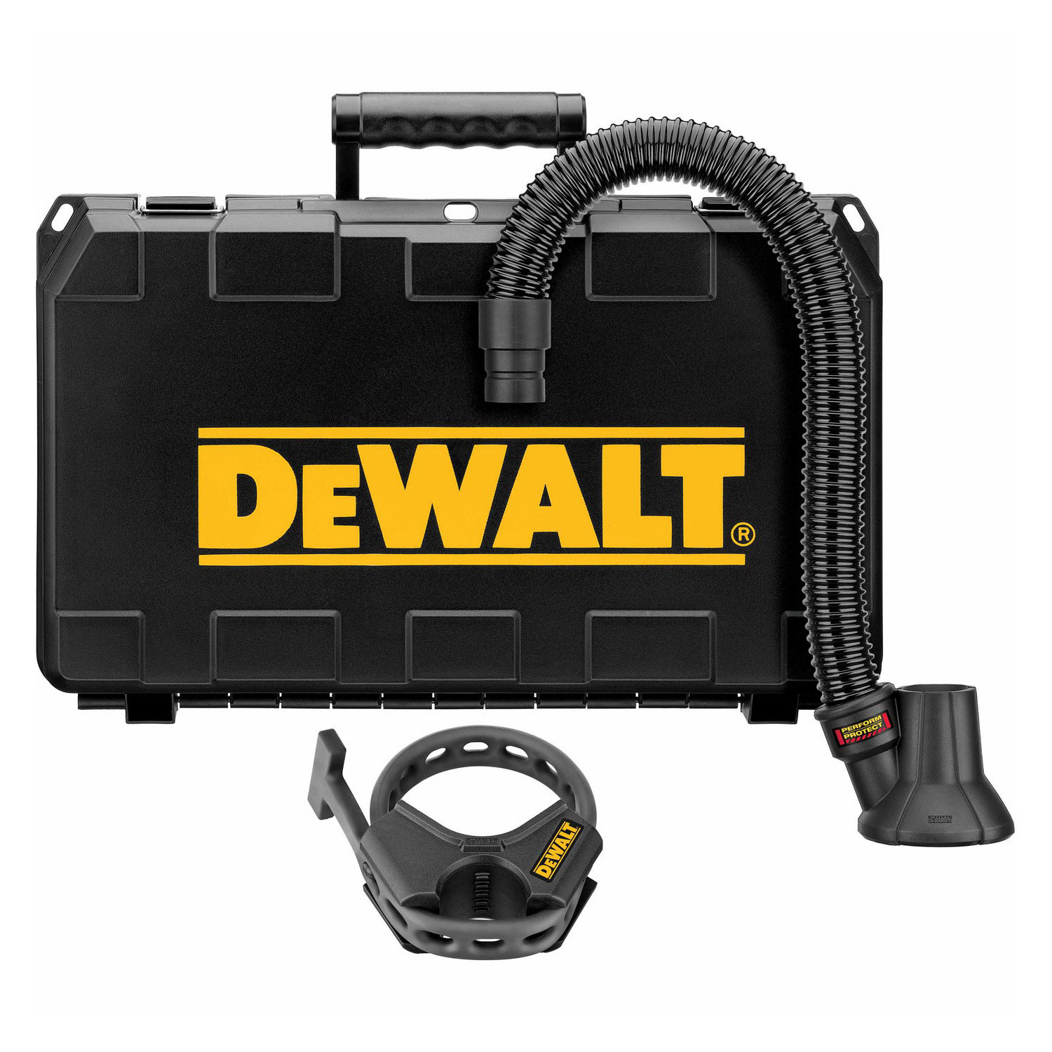 Dewalt Dust Extractor >> Dewalt Dwh052k Dust Extractor 1 1 4 In Hose Dia For Use With D25980 And D25960 Demo Hammers Black