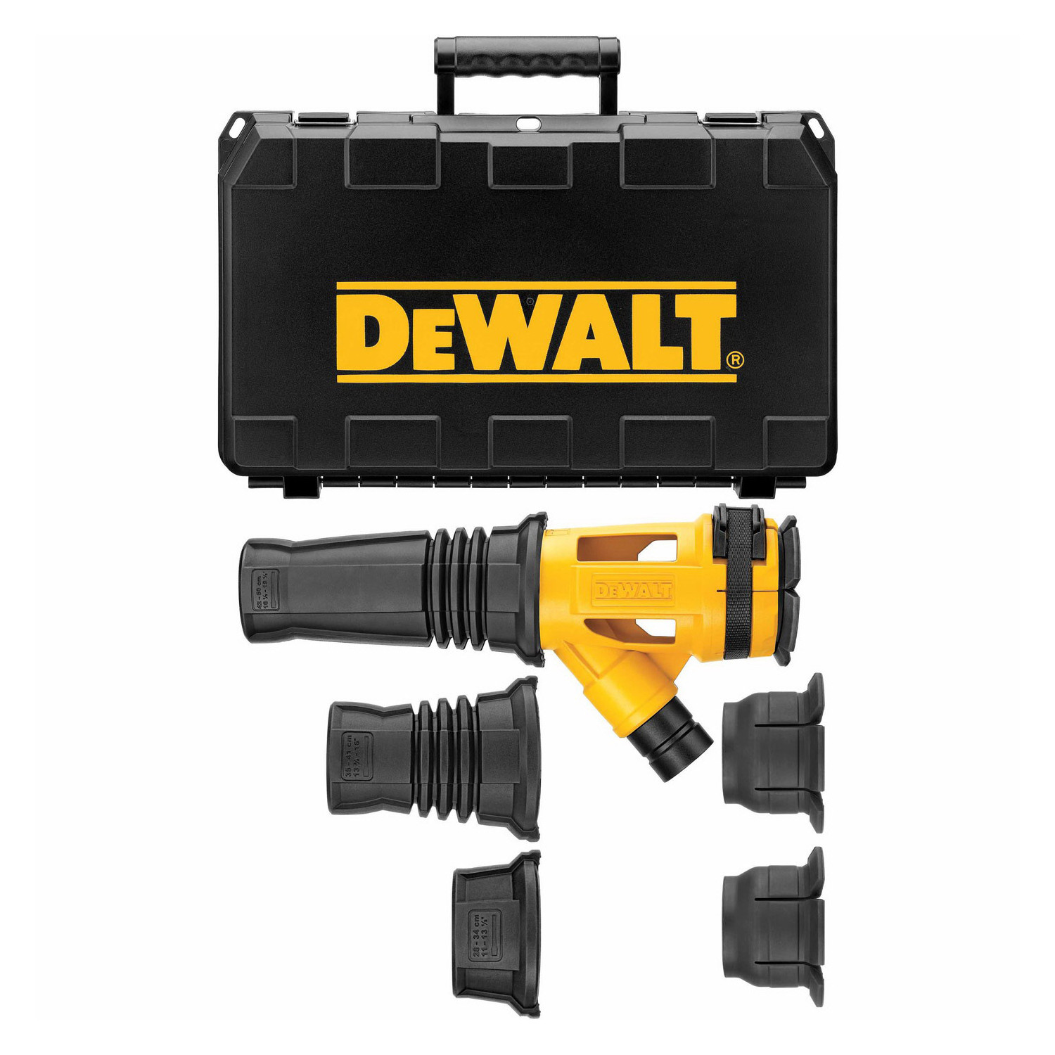 Dewalt Dust Extractor >> Dewalt Dwh053k Dust Extractor 1 3 4 In Hose Dia For Use With Sds Max Hex Combo Hammers And Breakers Black
