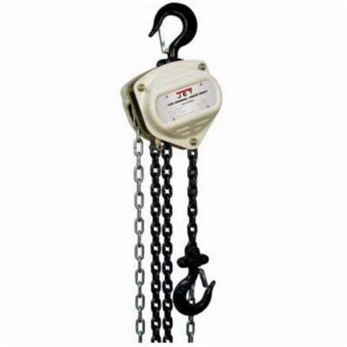 JET® S90-100-10 Light Duty Manual Chain Hoist -  1 ton Load -  10 ft Lifting Height -  12 in -  1.8 in Hook -  60 lb