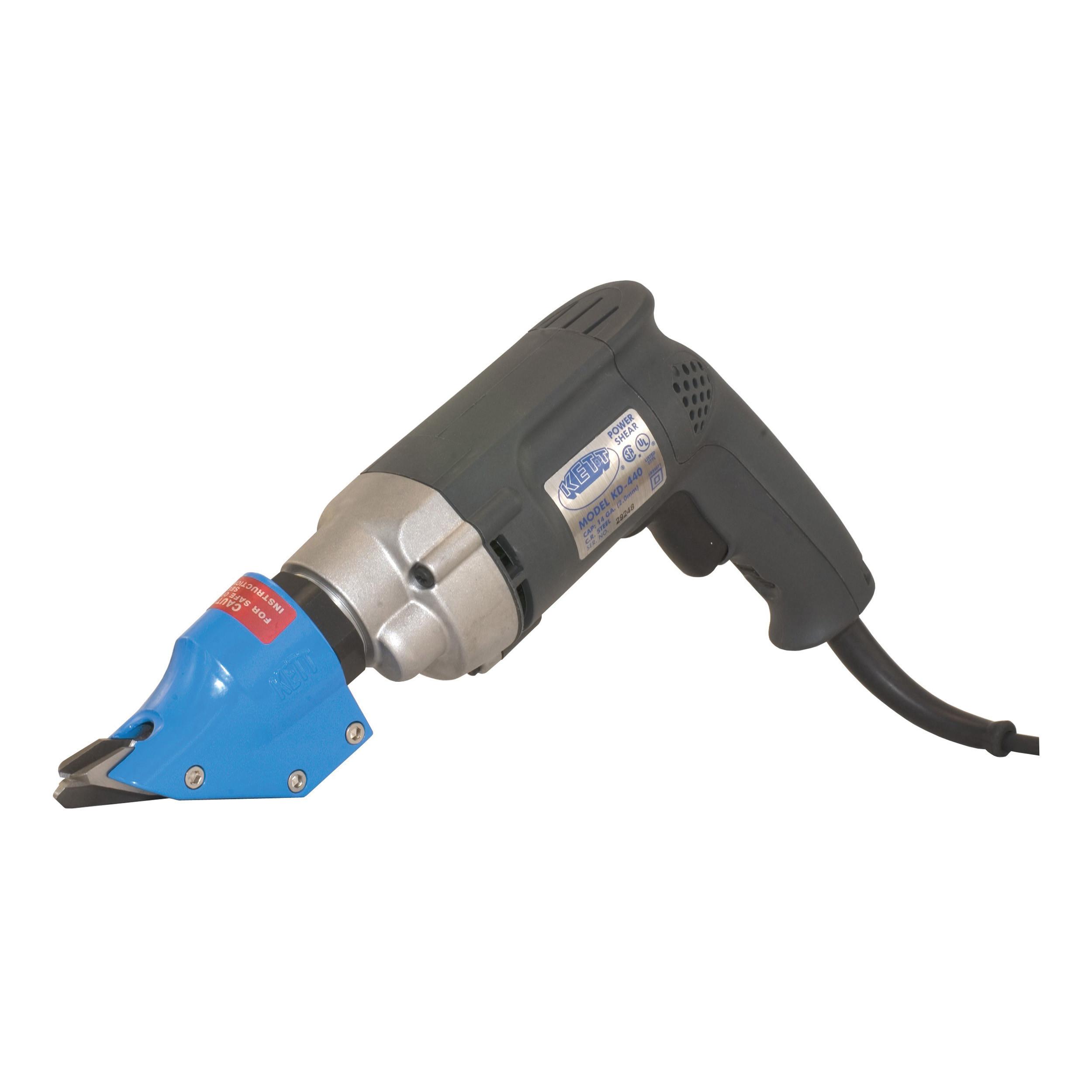 KETT Double Cut 120 V Electric Shear