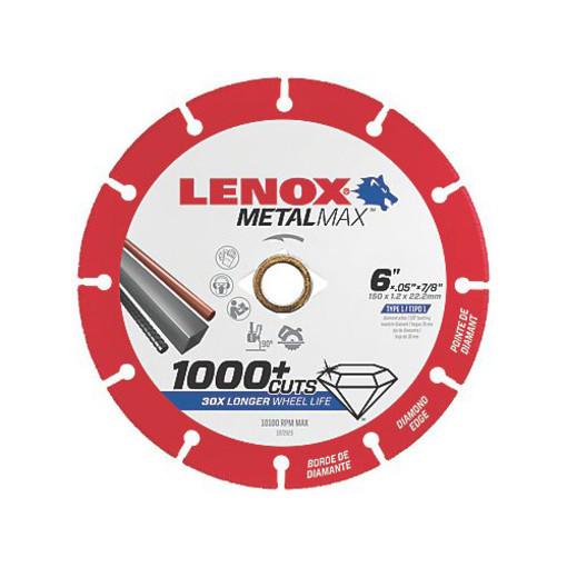 "Lenox Diamond Cut-Off Wheel - Angle Grinder - 6"" x 7/8"""