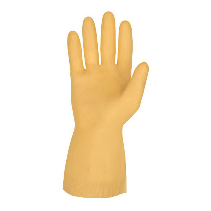 Memphis 5170E Industrial Grade Unsupported Chemical Resistant Gloves 12 per BA -  S -  Latex Palm -  Amber -  Latex