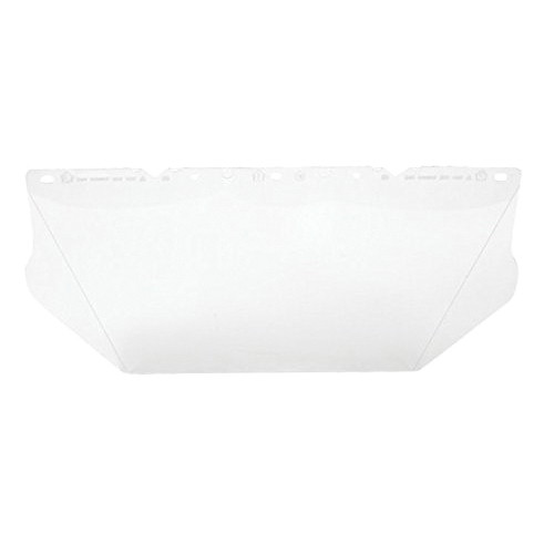 MSA 10115840 General Purpose Faceshield Visor -  For Use With V-Gard® Frames and Headgear -  Clear -  Polycarbonate