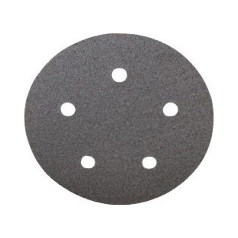 Norton® 66261131459 Heavy Duty PSA Coated Disc Roll -  5 in Dia -  220 Grit -  Extra Fine Grade -  Aluminum Oxide Abrasive