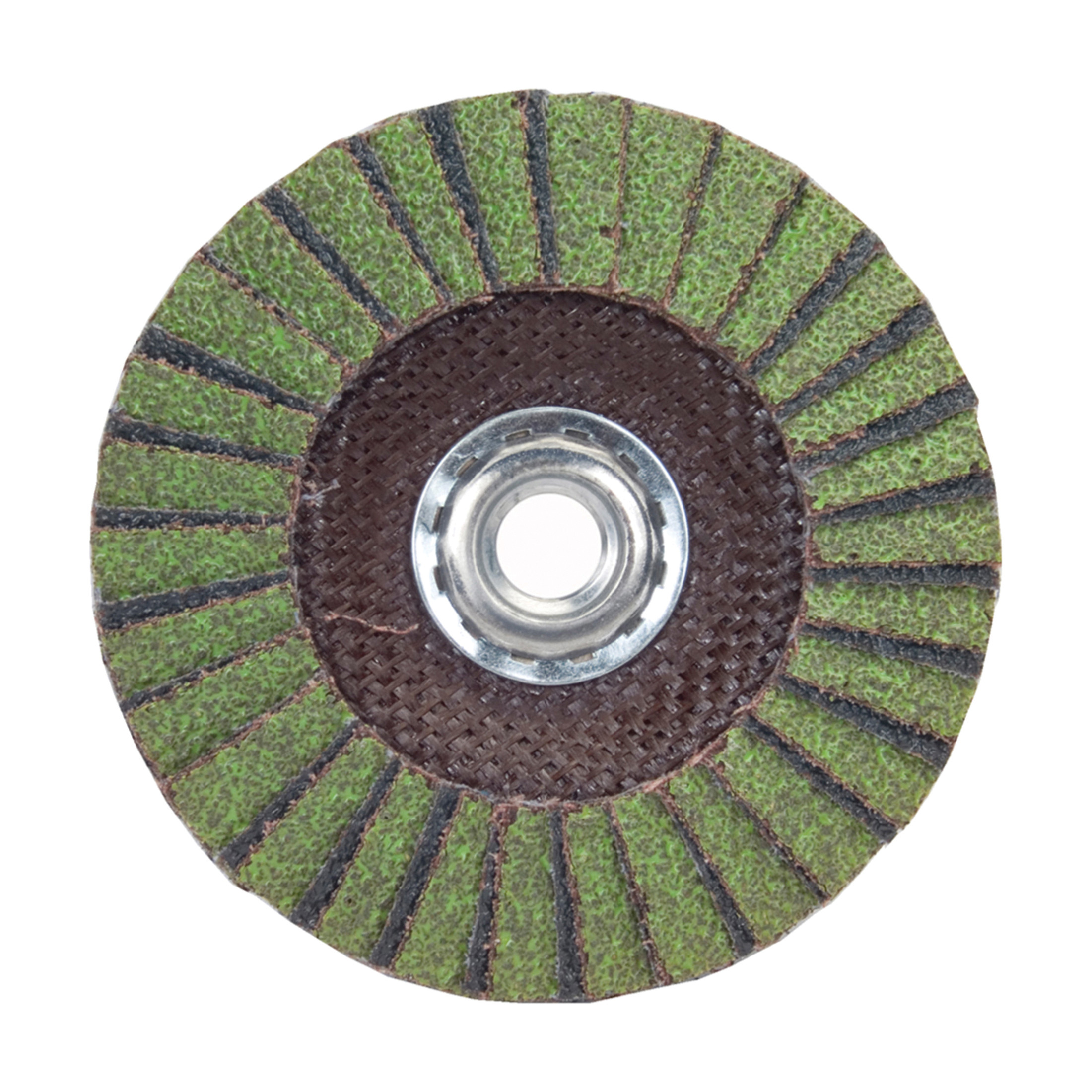 Norton® Neon® 66623399030 Type 29 Conical Coated Flap Disc -  4-1/2 in Dia -  5/8-11 -  60 Grit -  Coarse Grade