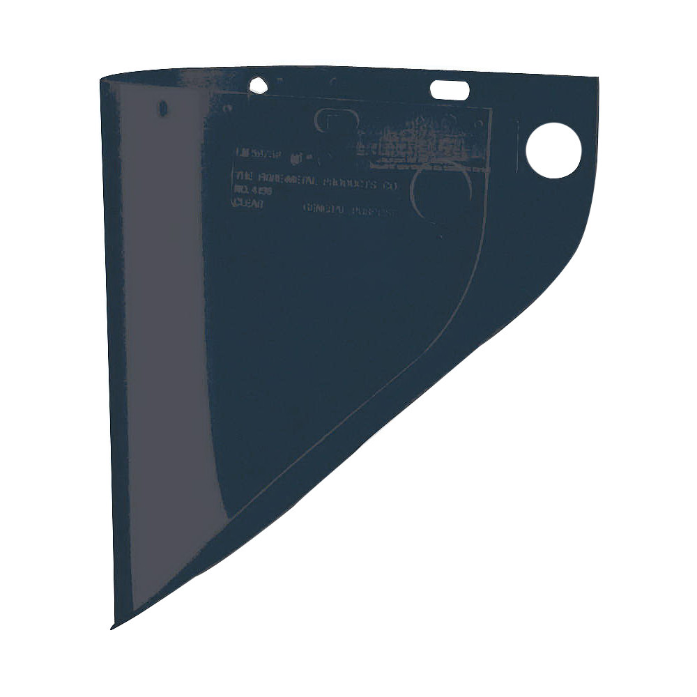 North® by Honeywell 4199IRUV5 Extended View Faceshield Visor -  9-3/4 in H x 19 in W -  Shade 5 IR -  Propionate