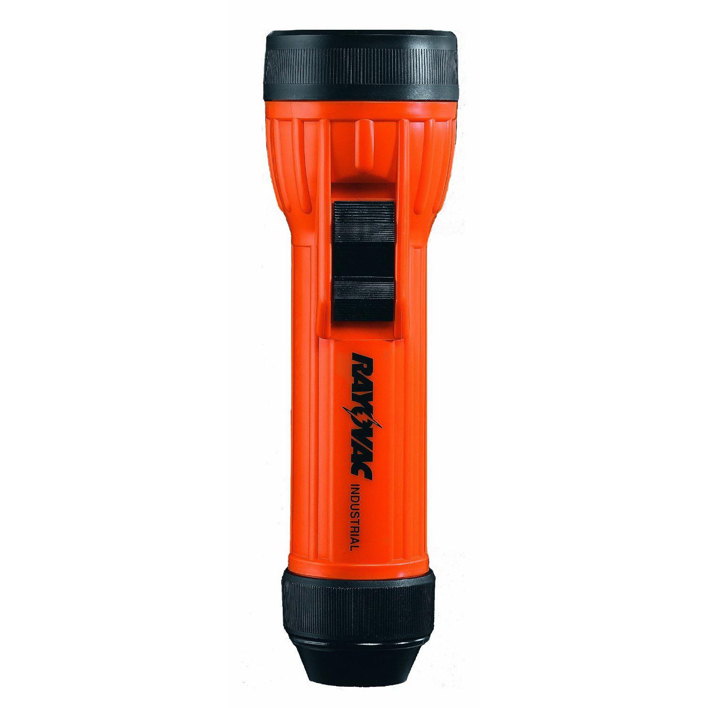 Rayovac® Mine-Safety Industrial Grade Hand Held Flashlight - . Incandescent Bulb -  Polypropylene -  8 Lumens