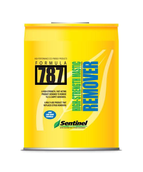 Sentinel 787 Mastic Remover -  5 gal Pail -  Liquid -  Amber -  Mild Solvent