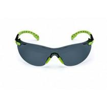 3M™ Solus™ 1000-Series Safety Glasses w/Foam, Green/Black Frame, Grey AF Lens