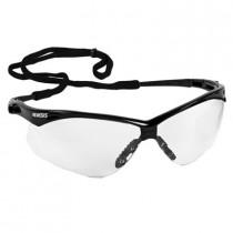 Nemesis™ CSA Safety Glasses, Black Frame, Clear AF Lens