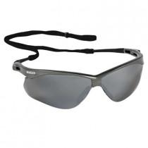 Nemesis™ CSA Safety Glasses, Gunmetal Frame, Smoke Mirror Lens