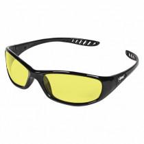 Hellraiser™ Safety Glasses, Flex-Point Temples, Amber Lens