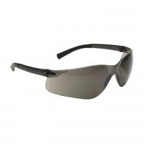 Bouton® Zenon Z13™ Safety Glasses, Dark Gray Frame, Gray Anti-Scratch Lens