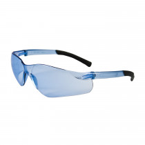 Bouton® Zenon Z13™ Safety Glasses, Light Blue Frame, Light Blue Anti-Scratch Lens