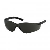 Bouton® Zenon Z13™ Safety Glasses, Dark Gray Frame, Gray Anti-Scratch/Anti-Fog Lens