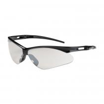 Bouton® Anser™ Semi-Rimless Safety Glasses, Black Frame, I/O Lens,  Anti-Scratch Coat