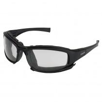 KleenGuard™ Calico™ Safety Glasses, Black Frame, Clear Anti-Fog Lens