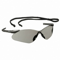 Nemesis™ VL Safety Glasses, Gunmetal Frame, Smoke Lens