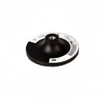 3M™ 9145 Regular Disc Pad Holder - For Use w/ Random Orbital Sanders - Rotary Sanders and Disc Sanders - Black