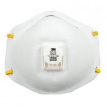 3M™ Disposable Particulate Welding Respirator w/ Cool Flow™ Exhalation Valve and Adjustable M-Nose Clip 80 per CS