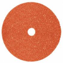 Cubitron™ II 987C Coated TN Quick Change Abrasive Disc - 4-1/2 in Dia - 36 Grit - Extra Coarse Grade