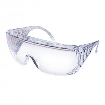 MCR Safety 98 Series Safety Glasses, Scratch Resistant Clear Lens, 144 Pair Bulk Packed