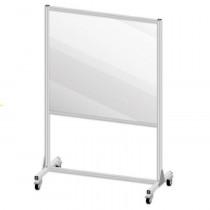 "Large Mobile Partition Shield Panel, 78"" x 50"""