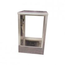 Aerospace (9105) Portable Telescoping Decontamination Shower, Aluminum