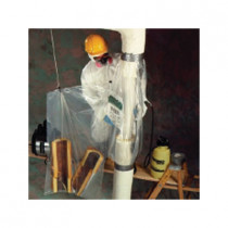 Avail™ 01610206 QuickTwist Asbestos Glovebag 20 per CS -  86 in L x 54 in W -  Horizontal -  Fits Pipe Size Up to 10 in Dia -  1