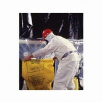 Avail™ Extended Run Asbestos Glovebag, 72L x 60W, Horizontal, Fits Pipe Size 10-14 in Dia
