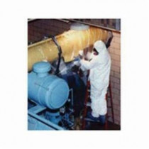 Avail™ 01666842156 Extended Run Asbestos Glovebag -  84 in L x 66 in W -  Horizontal -  Fits Pipe Size 14 - 18 in Dia -  2