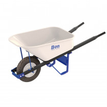 TRADE TOUGH™ Steel Tray Wheel Barrow, 6 cu. ft.