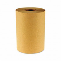 Hardwound Paper Towels, Non-Perforated, Natural, 800ft, 6 Rolls