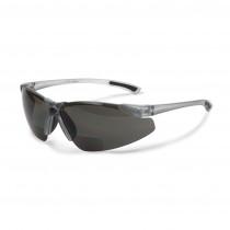 Radians® C2™ Bi-Focal Safety Eyewear, Smoke Frame and Lens, 2.0 Diopter