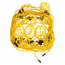 Standard String Lights w/Plastic Guards, 100 ft