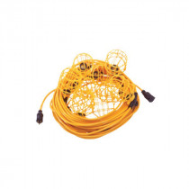 Construction Electrical 96132 Light String With Plastic Guards -  125 V