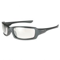 CrossFire® M6A Premium Safety Eyewear, Pearl Gray Frame, I/O Mirror Lens