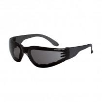 CrossFire® Shield Foam Lined Safety Eyewear, Smoke Frame, Smoke AF Lens