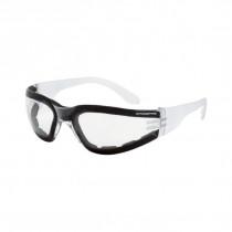 CrossFire® Shield Foam Lined Safety Eyewear, Clear Frame, Clear AF Lens
