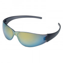 MCR Safety CK1 Series Safety Glasses, Scratch-Resistant Rainbow Lens