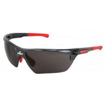 Dominator™ DM3 Safety Glasses, Gun Metal Frame, Gray MAX3™ Hard Coat Lens