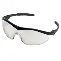 MCR Safety ST1 Series Safety Glasses, Black Frame, I/O Clear Mirror Lens