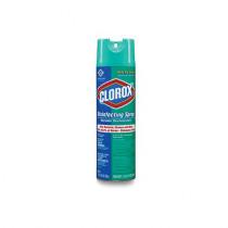 The Clorox Company Clorox® 38504CT Disinfecting Spray -  19 oz Aerosol Can -  Thin Liquid -  Clear