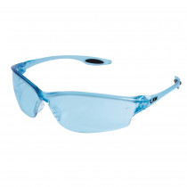 MCR Safety Law® LW2 Series Dielectric Safety Glasses, Light Blue Lens