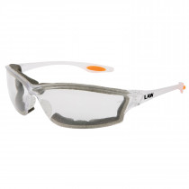 MCR Safety Law® LW3 Series Dielectric Safety Glasses, Foam Lined, Clear Anti-Fog Lens