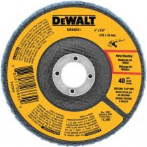 """Dewalt Flap Disc, 4-1/2"""" x 5/8""""-11"""", 40 Grit, Type 29"""