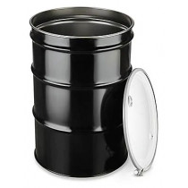 Transport Drum, 55 Gallon with Lid & Ring
