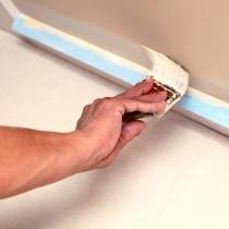 Trimaco SuperTuff™ Leakproof Plastic Painter Drop Cloths, 2mil, 9 ft x 12 ft