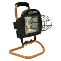 500 Watt Portable Halogen Work Light with Weatherproof Switch
